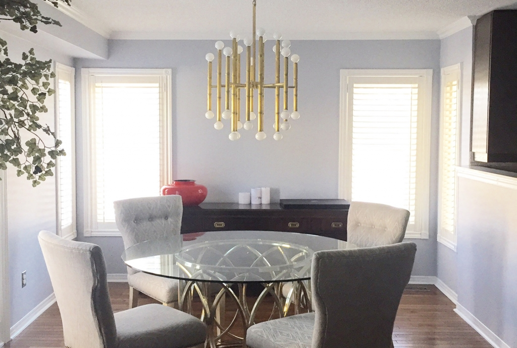 Lighting Focal Point Dining Room